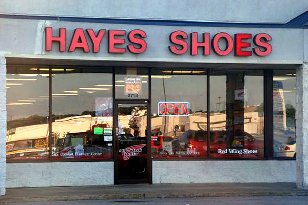 Hayes Shoes - Clarksville, TN