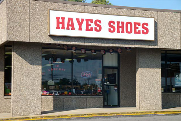 Hayes Shoes - Hopkinsville, KY